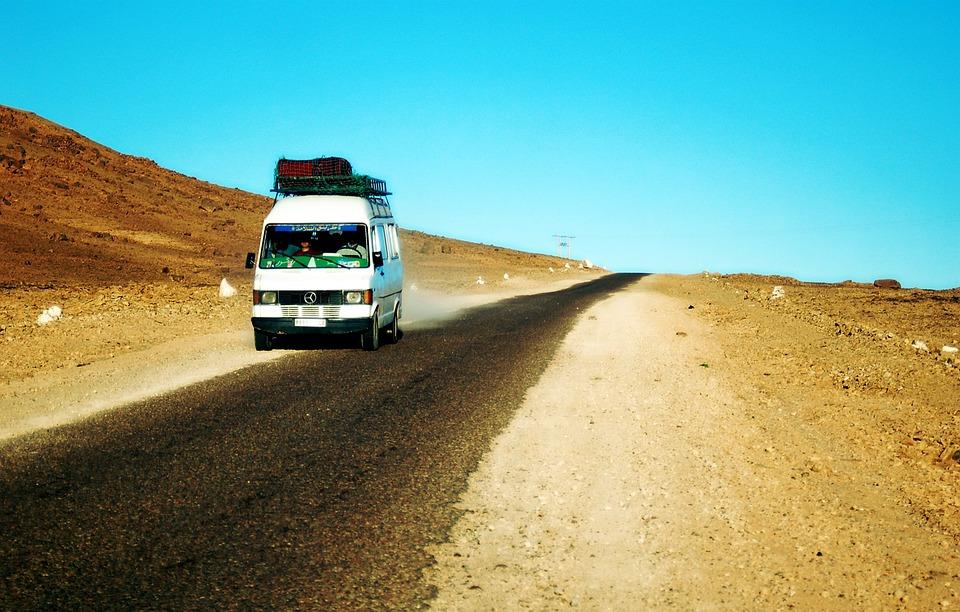 dodávka Maroko