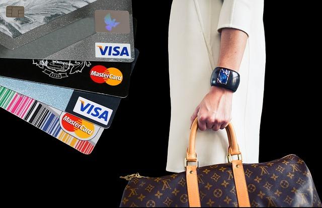 nákup na kreditku