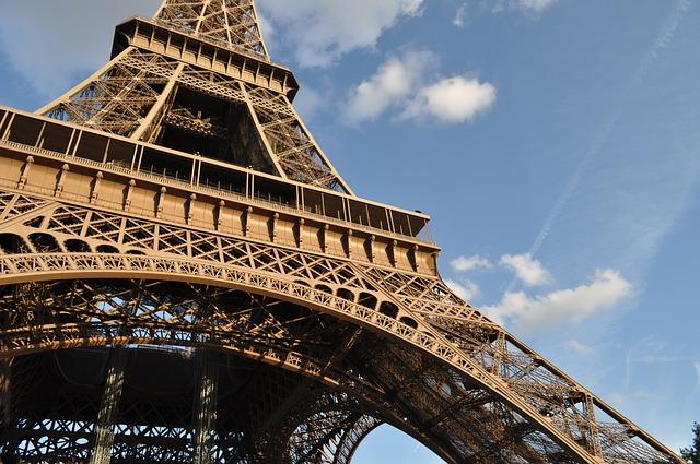 cestování po Paříži