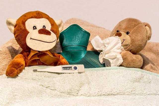 nemocní medvídci